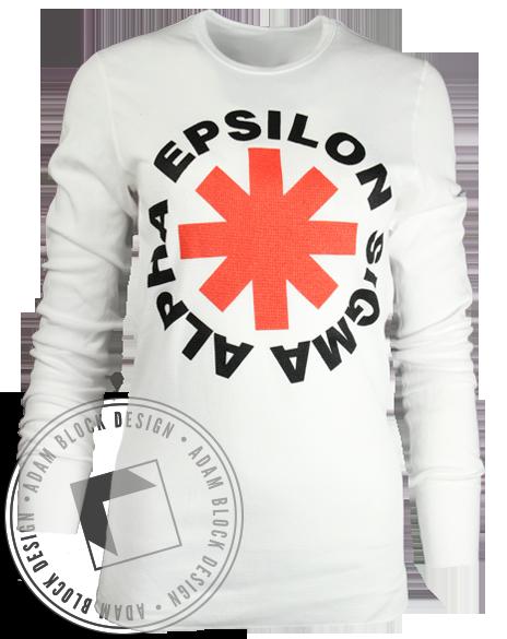 Epsilon Sigma Alpha Asterisk Long Sleeve by Adam Block Design | Custom Greek Apparel & Sorority Clothes | www.adamblockdesign.com