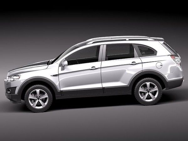 chevrolet captiva 2012 suv 3d model - chevrolet captiva ...