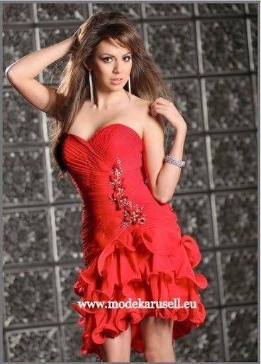 Abi - Cocktailkleid in Rot | Abschlussball kleider ...