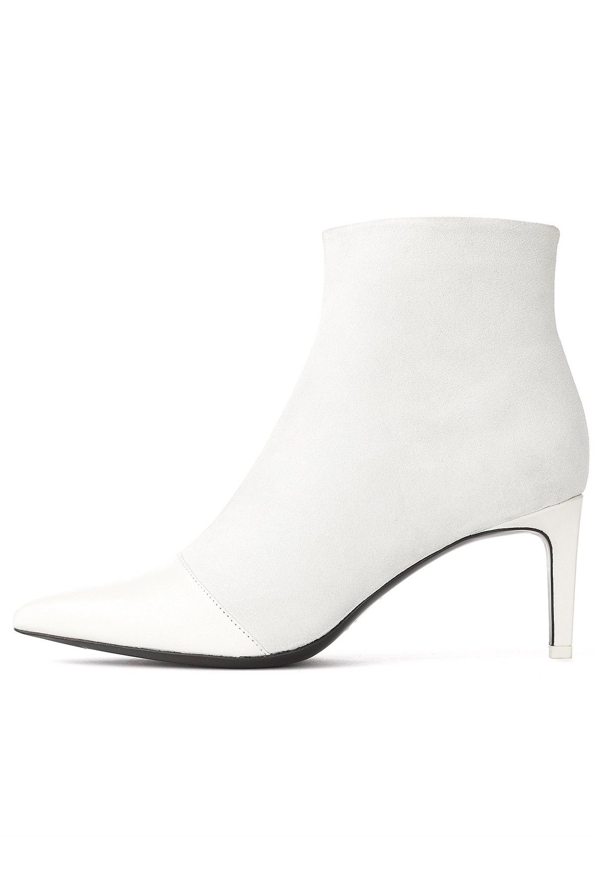 568415ed8fd Rag and Bone Beha Boot in White Loeffler Randall