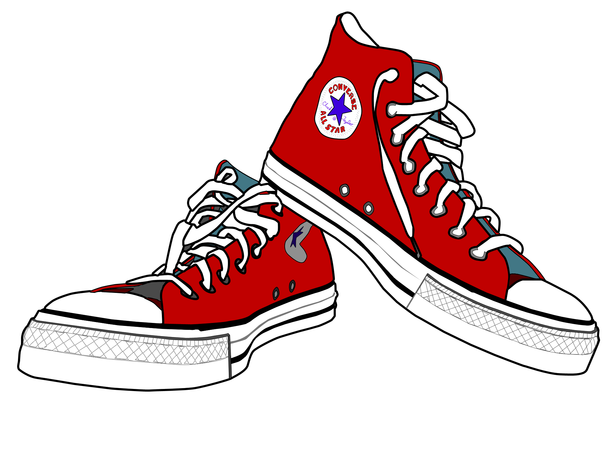 030feb6c34a1b7 All Star · High Top Sneakers · Converse Rouge