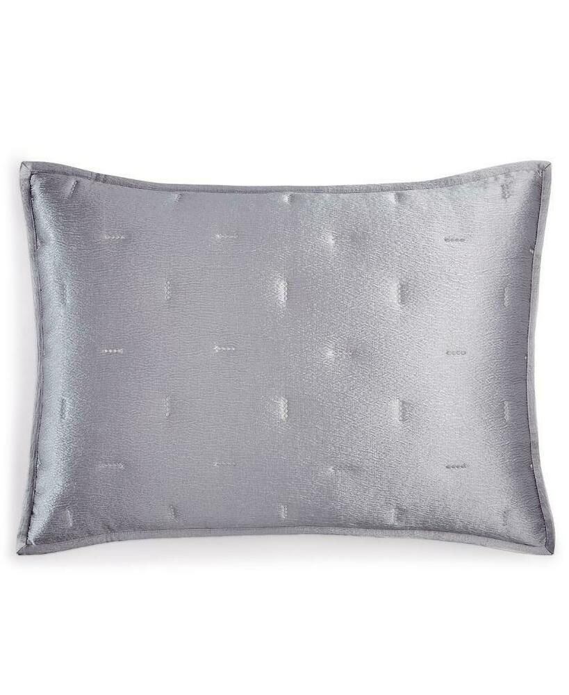 Pair Of Hotel Collection Autumn Leaf King Quilted Sham Set Gray Purple Ebay In 2020 Hotel Collection Quilted Sham King Quilt