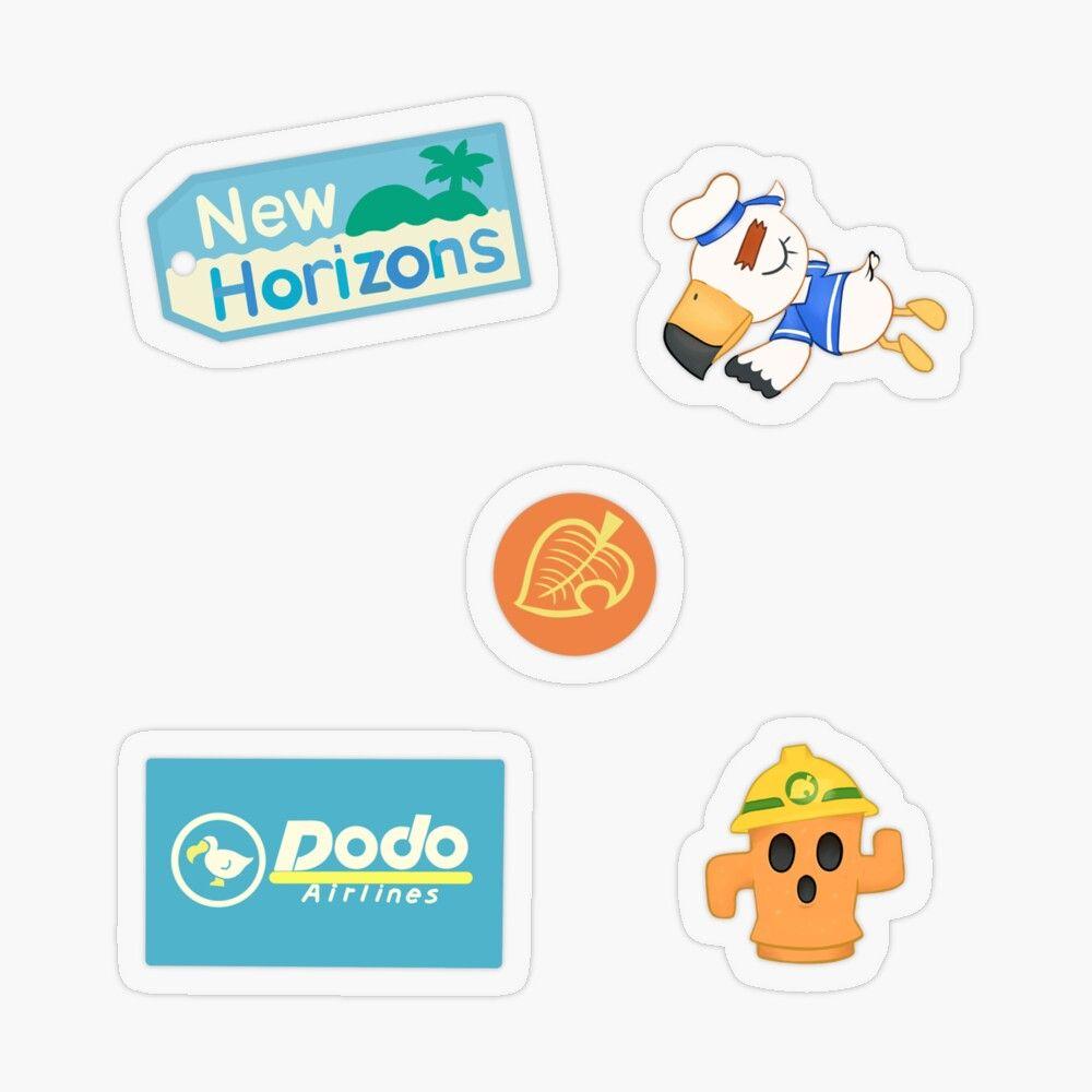 Animal Crossing New Horizons Sticker Pack Sticker