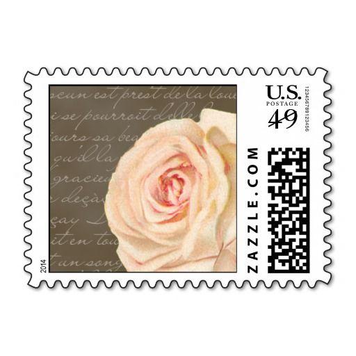 Vintage Rose Wedding Postage Stamp We Have The Best Promotion For