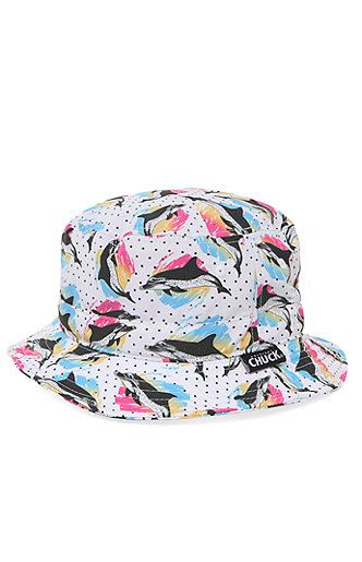 5c0eb8e3be495 PacSun presents the Chuck Cabo Bucket Hat. This colorful cap comes with a  multi color