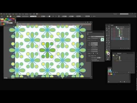 Make A Pattern In Illustrator Use The Pattern Maker For Seamless