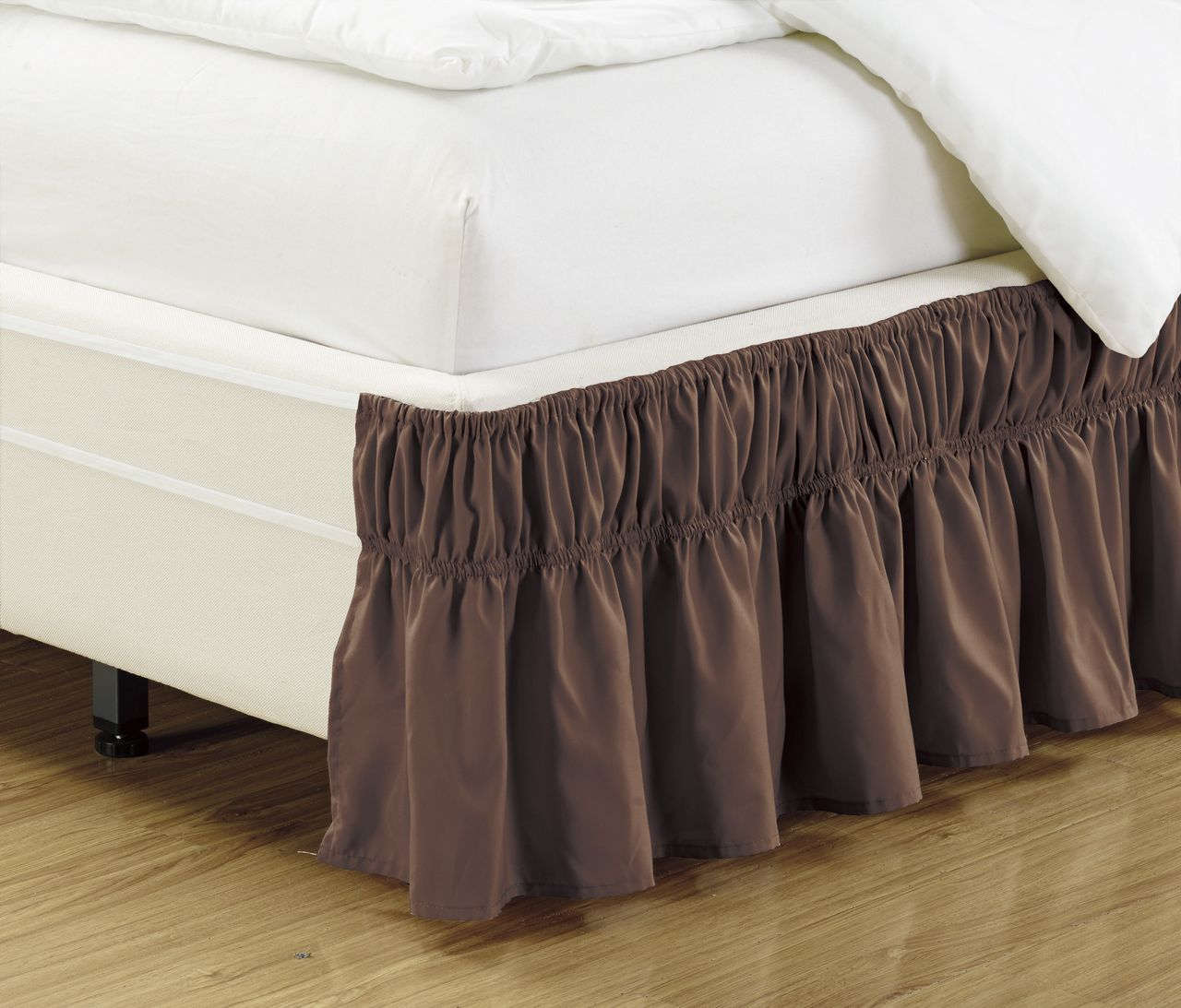 Ruffled Bed Skirt Coffee Ruffle Bedding Ruffle Bed Skirts Bed