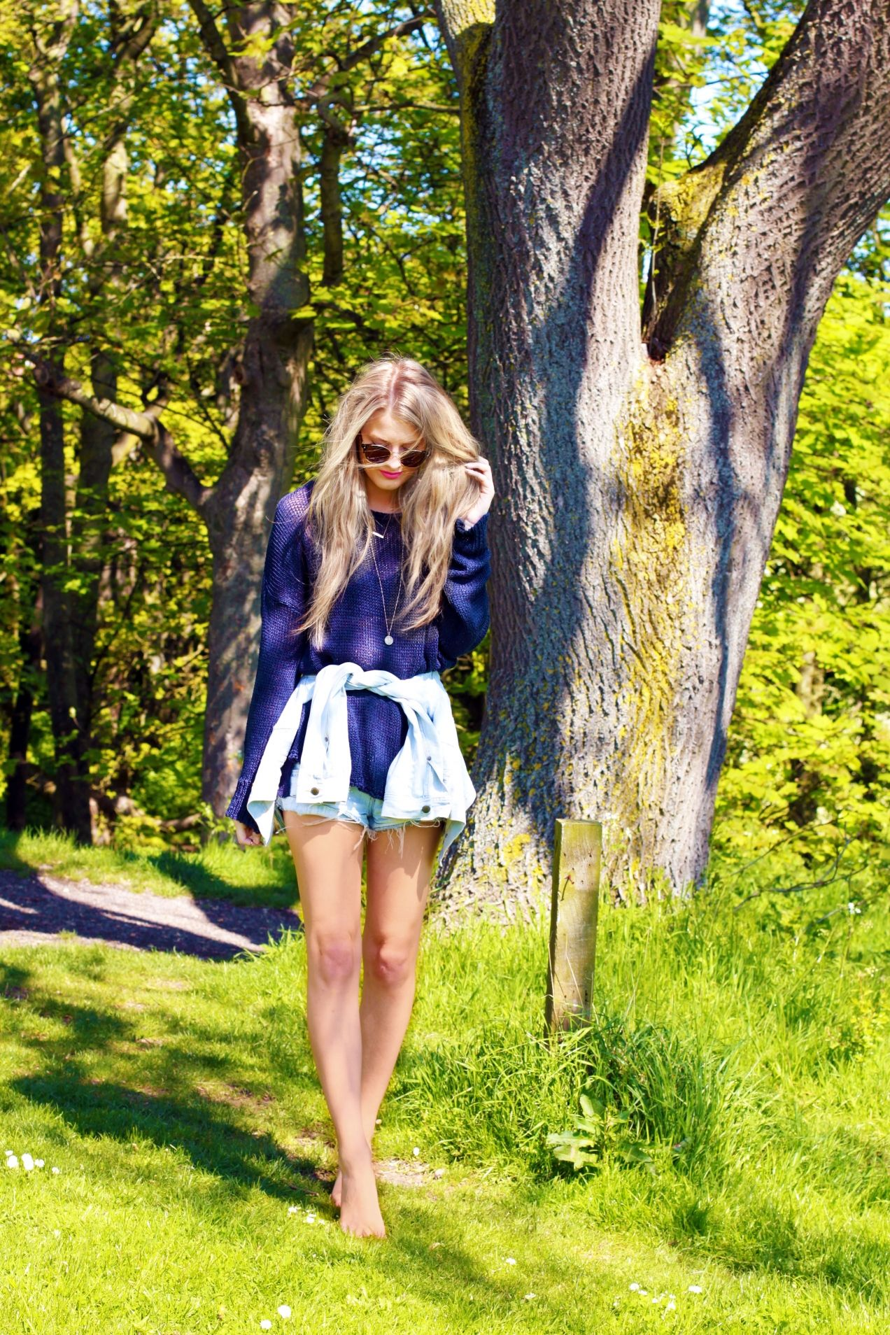 Clad In Brandy by Nicki  Elise Elwin of The Truth Diaries || #ttd #thetruthdiaries #fashion #fashionblogger #brandymelville #style #fbloggers #doubledenim #summer #SS14 ||