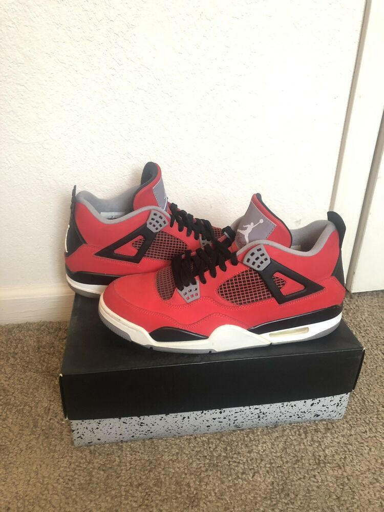 cheaper 53b8d 18d68 Nike Air Jordan 4 Retro 2013 Toro Bravo 308497-603 Sz 10.5 100% Authentic   fashion  clothing  shoes  accessories  mensshoes  athleticshoes (ebay link)