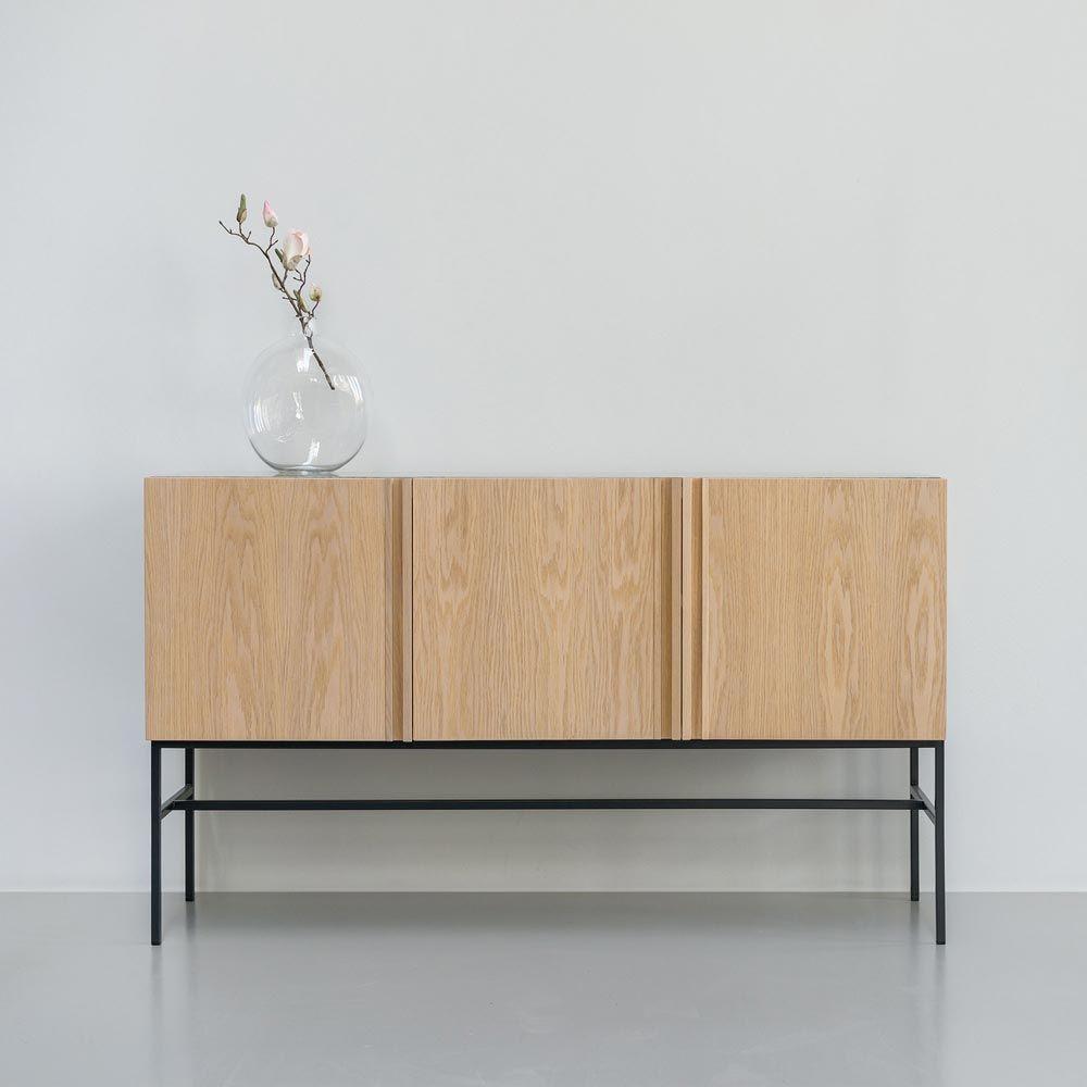 Boss Cabinet Metal Legs Fred International Beautiful Interiors  # Meuble En Boi