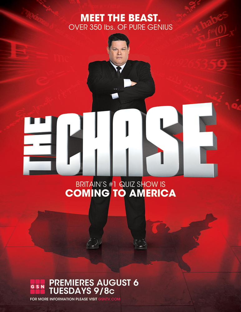 The Chase Usa Premieres On Aug 6th On Gsn Thebeast Thechaseusa Game Show Tv Entertainment Tv Guide