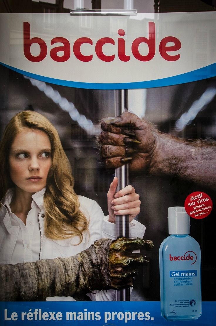 The Scariest Ad Ever Effective Ads Ads Hand Sanitizer