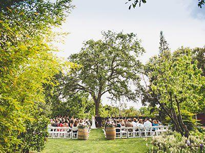 Northern California Garden Wedding Venues Sf Bay Area Perfect Location