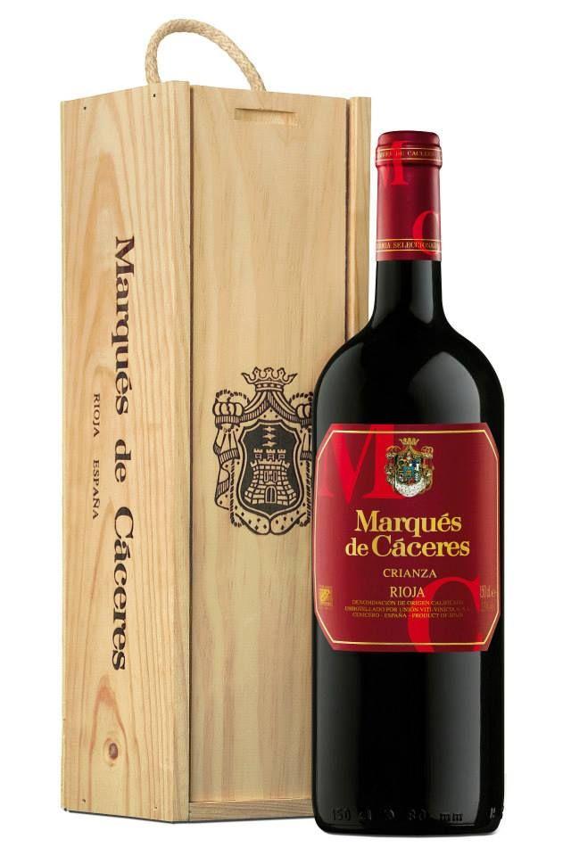 Marques de Caceres Rioja wine