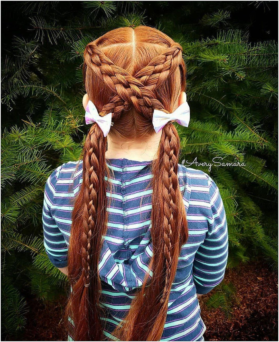Five strand braids crossover braids easy kids braids easy kid
