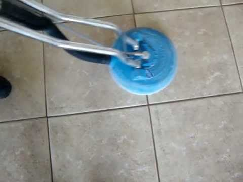 Video demo of porcelain tile and grout cleaning! Client was amazed!  Want amazing results on your floors? Live in Las Vegas, NV? Call 702-595-8178 NOW!