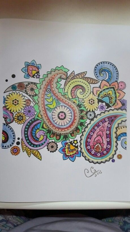 Colorama Coloring Book Prismacolor Pencils 8 2015