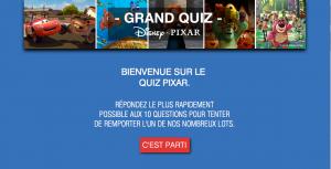 Quiz Pixar | 522 Cadeaux À Gagner - Recevoir Des Échantillons