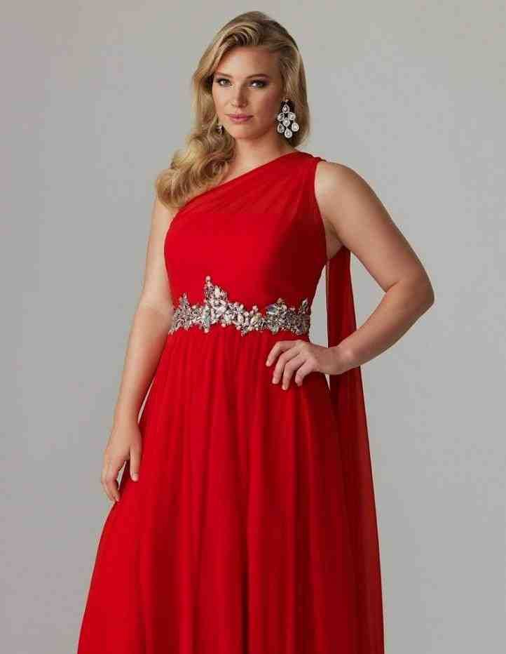 Plus Size Red Bridesmaid Dresses | Bridesmaid dresses plus ...