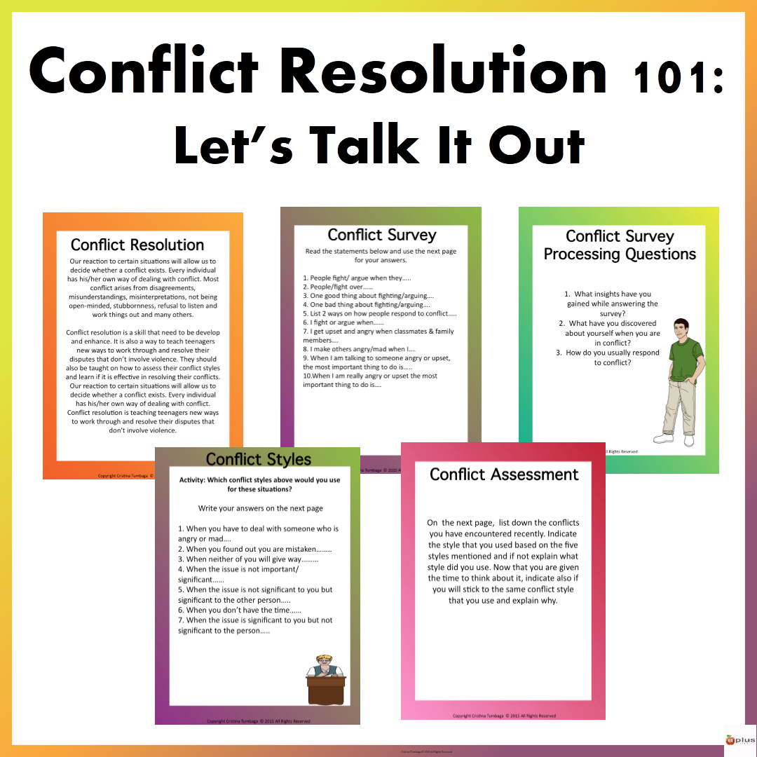 Conflict Resolution 101 With Images