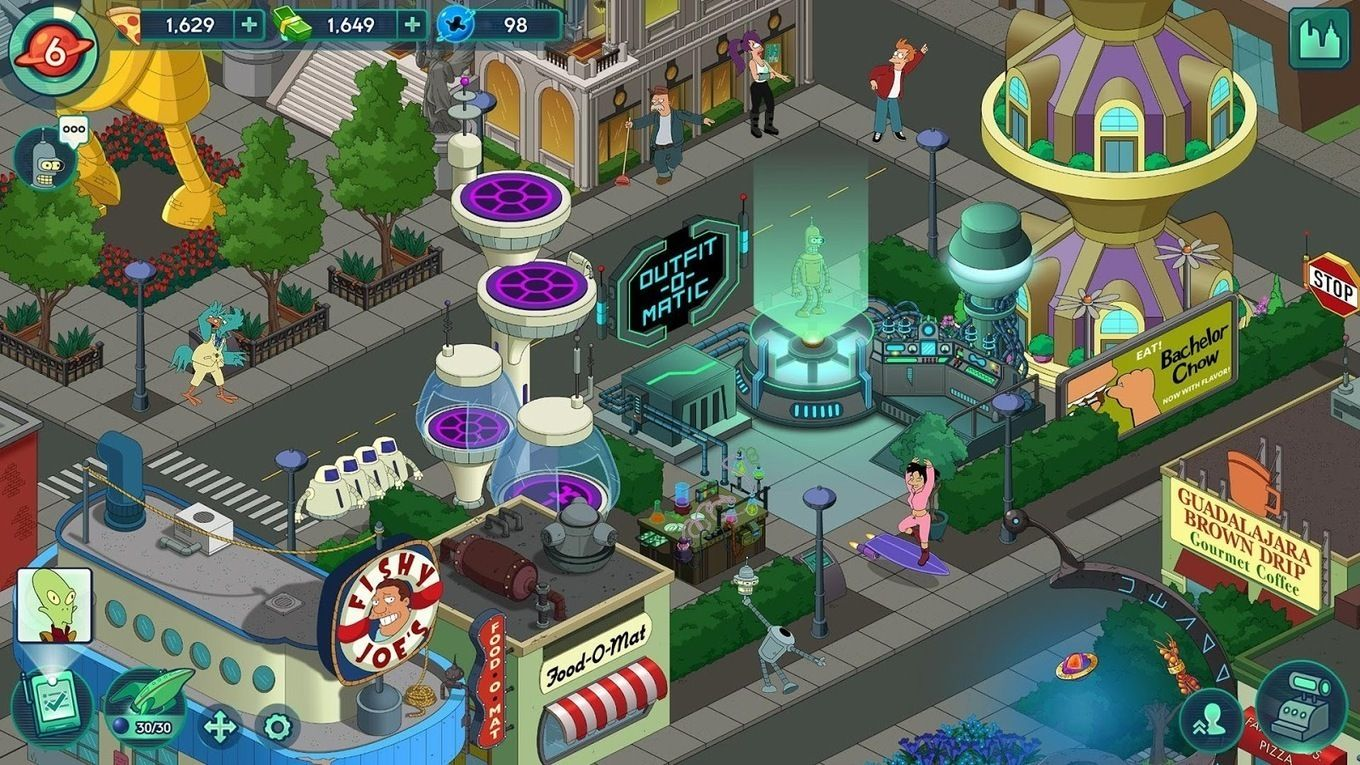 Futurama: Worlds of Tomorrow APK v1 3 6 (Mod)- Android game