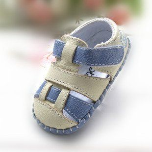 Genuine Leather First Walkers Baby Girl/ Boy Soft Sole  Shoes Summer Toddlers First Walkers