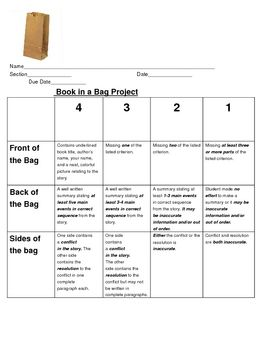 This is a fun end of book project for students after completing a book in literature circles or guided reading. It is simple, easy, inexpensive, an...