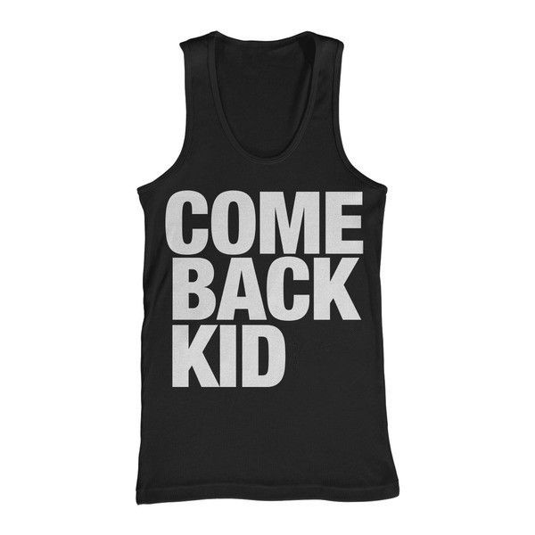 Leave any message on the custom tank top. Fantastic!