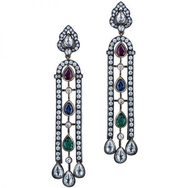 Heritage Earrings | Gilan - High Jewellery, Istanbul
