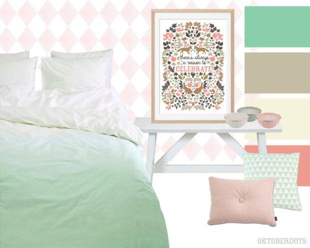 slaapkamer mint - Google zoeken | Slaapkamer | Pinterest | Pastel colors
