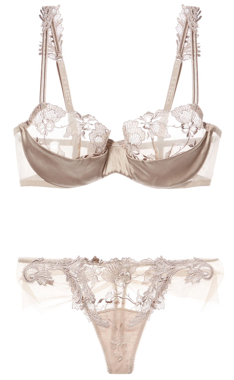 e22193cae4fe for-the-love-of-lingerie: by La Perla. Love taupe color, so classy. Most my  lingerie is white, ivory, black, pink or taupe. -Mari