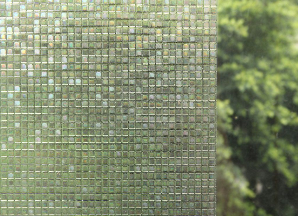 Rabbitgoo 3dガラスフィルム 窓用フィルム 浴室目隠しシート 断熱 紫外線カット 無接着剤 再利用可能 プライバシーガラスフィルム 45 X 200cm Window Tint Film Glass Window Decorative Window Film