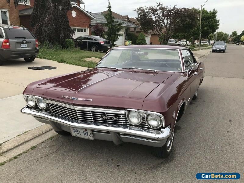 1967 Chevrolet Impala Chevrolet Impala Forsale Canada