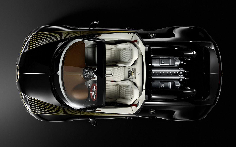 Bugatti Veyron Grand Sport Vitesse Legend Black Bess Bugatti
