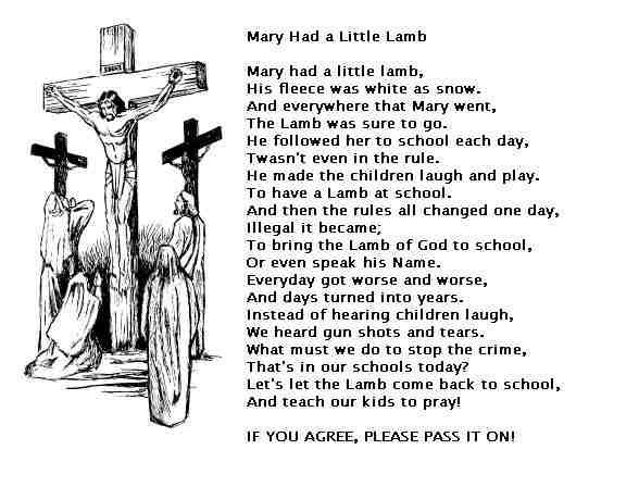 A Different Take On Mary Had A Little Lamb Poems About School Best Poems Wonderful Words