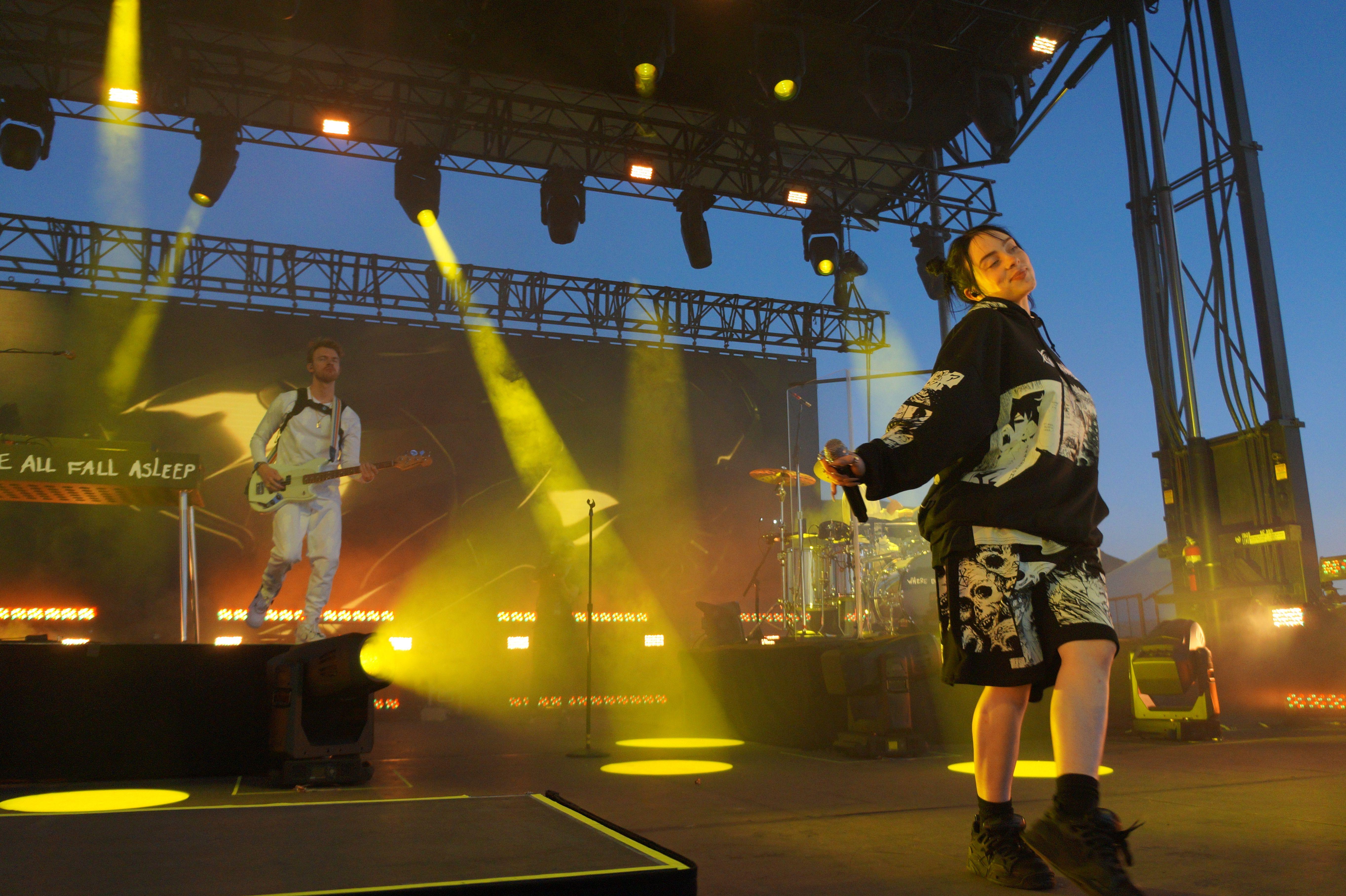 Billie Eilish Concert Heat Inspires Chaos At Saltair Billie Billie Eilish Concert
