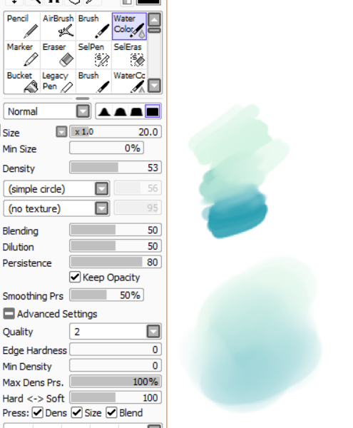 Paint Tool Sai brushes | Drawing | Sai brushes, Paint tool sai