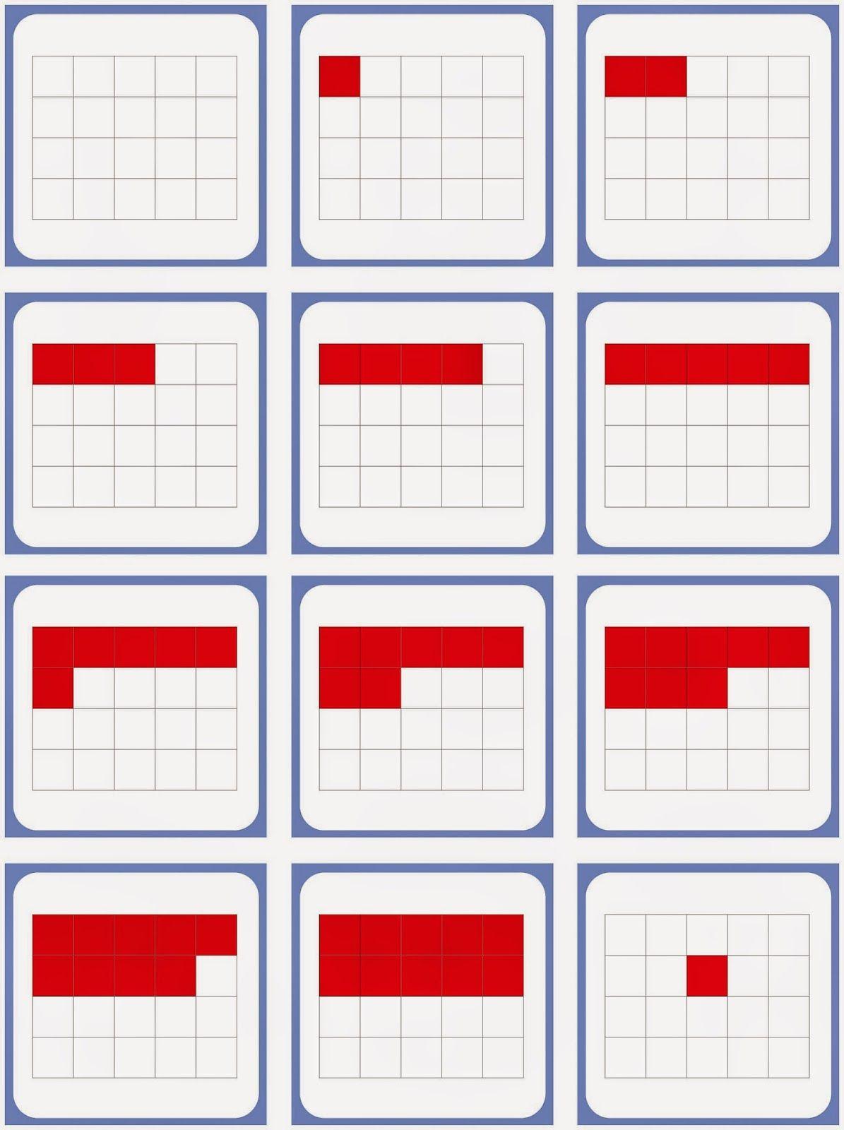 blitzblickkarten bis 10 arbeitsbl tter legasthenie dyskalkulie school math und montessori. Black Bedroom Furniture Sets. Home Design Ideas