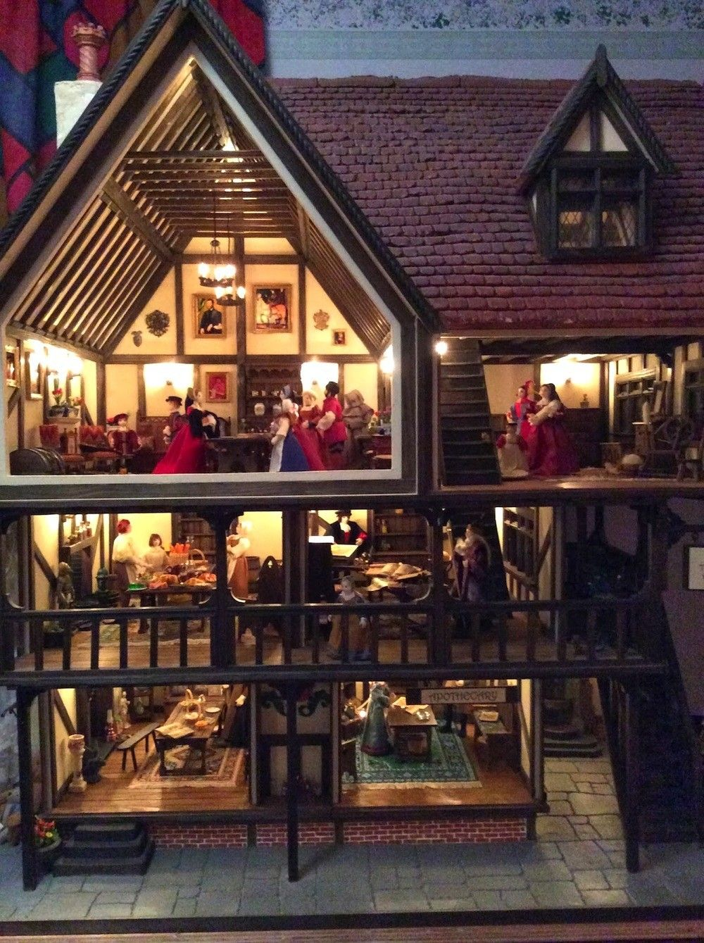 Tudor Dollhouse Interiors Tudor Dollhouse Pinterest