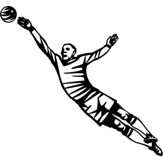 Goalkeeper catching the ball  Sport  Pinterest  Goalkeeper
