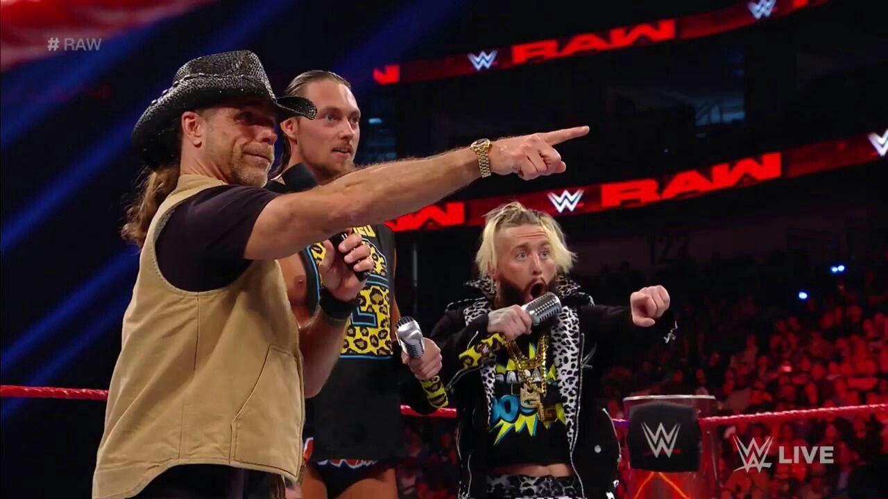 Enzo Amore, Big Cass, HBK Shawn Michaels | Enzo Amore & Big Cass ...