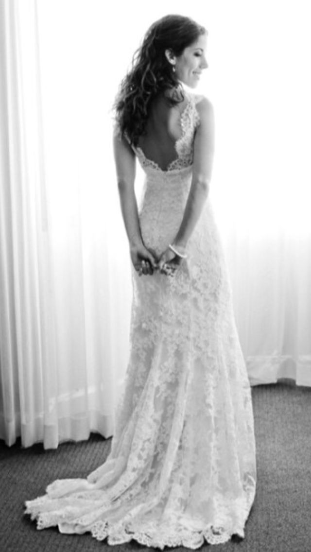bef6d2a59747 Brudklänning spets | Weddingdresses in 2019 | Brudklänning spets ...