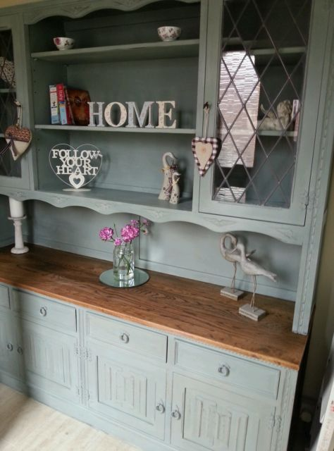 Shabby Chic Welsh Dresser Jaycee Ebay Upcycled Furniture Recycled