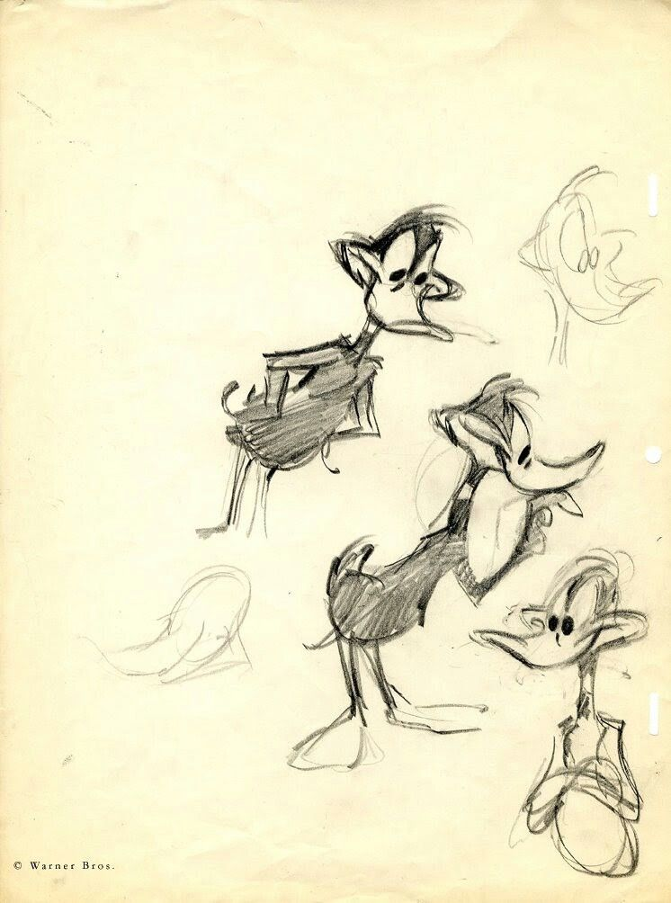 Daffy Duck Sketch