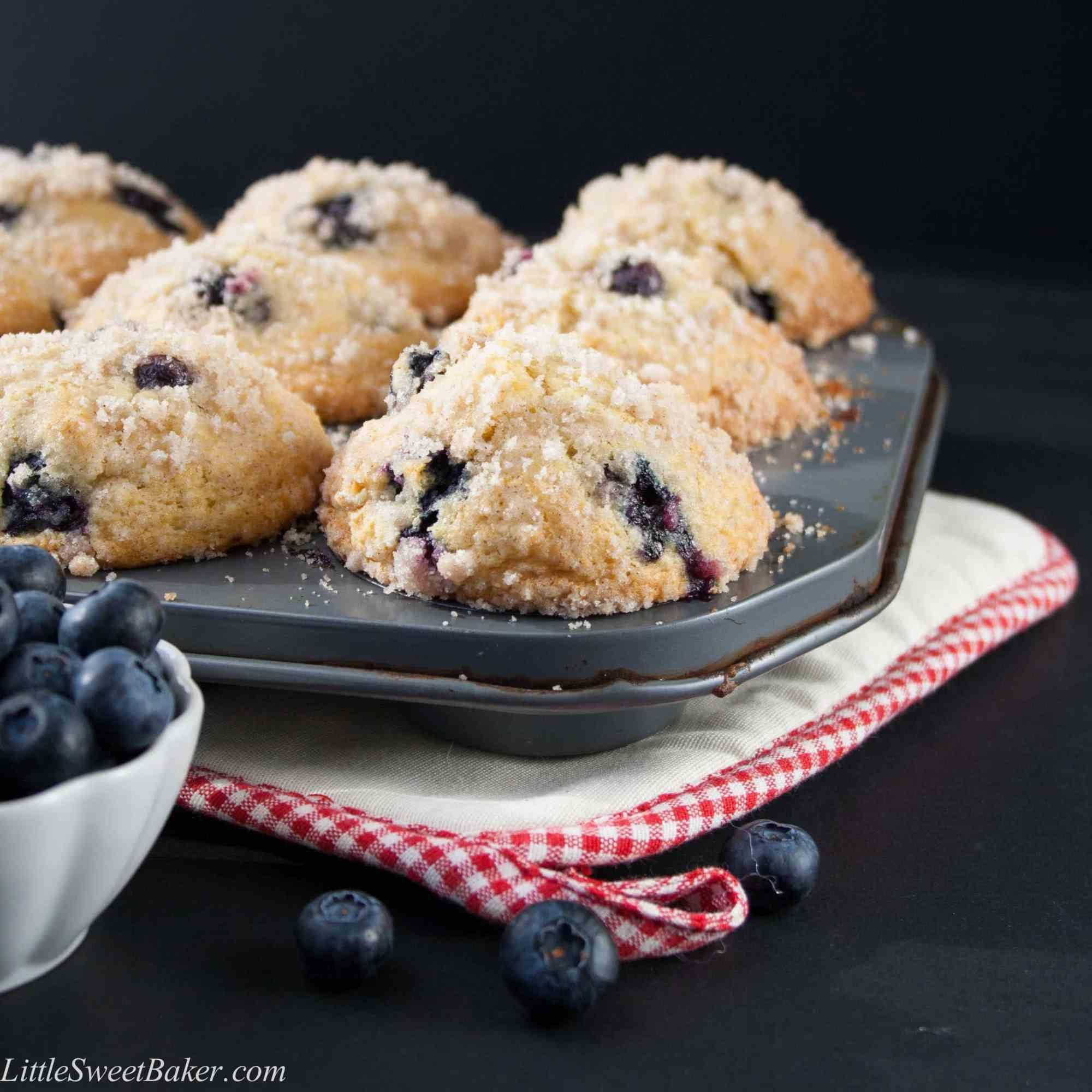 Best Blueberry Streusel Muffins Bakery Style Recipe Blueberry Streusel Muffins Gourmet Bakery Bakery Style Blueberry Muffins