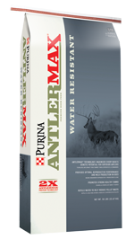 Contains proprietary AntlerMax® Mineral Technology, a power-packed nutritional package with ideal amounts and ratios of vitamins and minerals for superior antler density and strength, optimum reproductive performance and healthy fawns.
