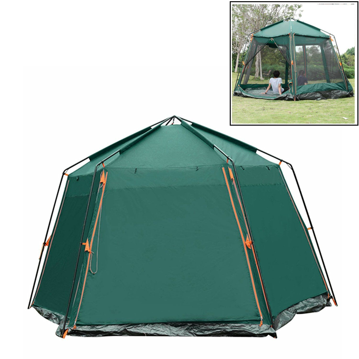 Etuoji Uv Protection Family Camping Tent 48 Person Automatic