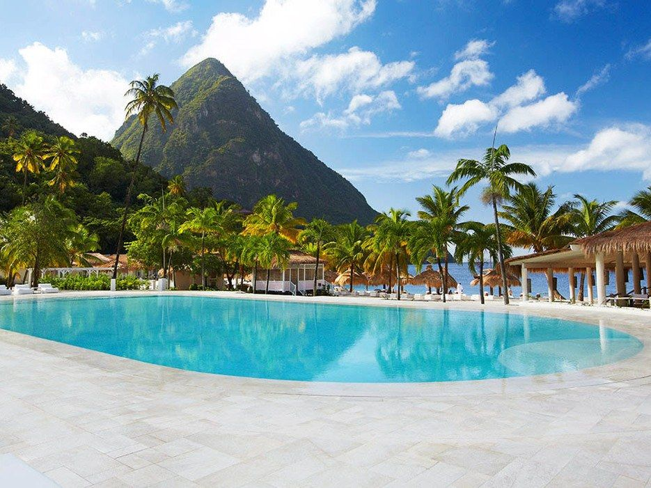 There's a reason celebrities descend upon Sugar Beach: It's impeccably stylish and exclusive, and fronts some of the most beautiful waters in the Caribbean.  (from $425)