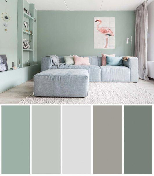 5 cool living room color ideas images