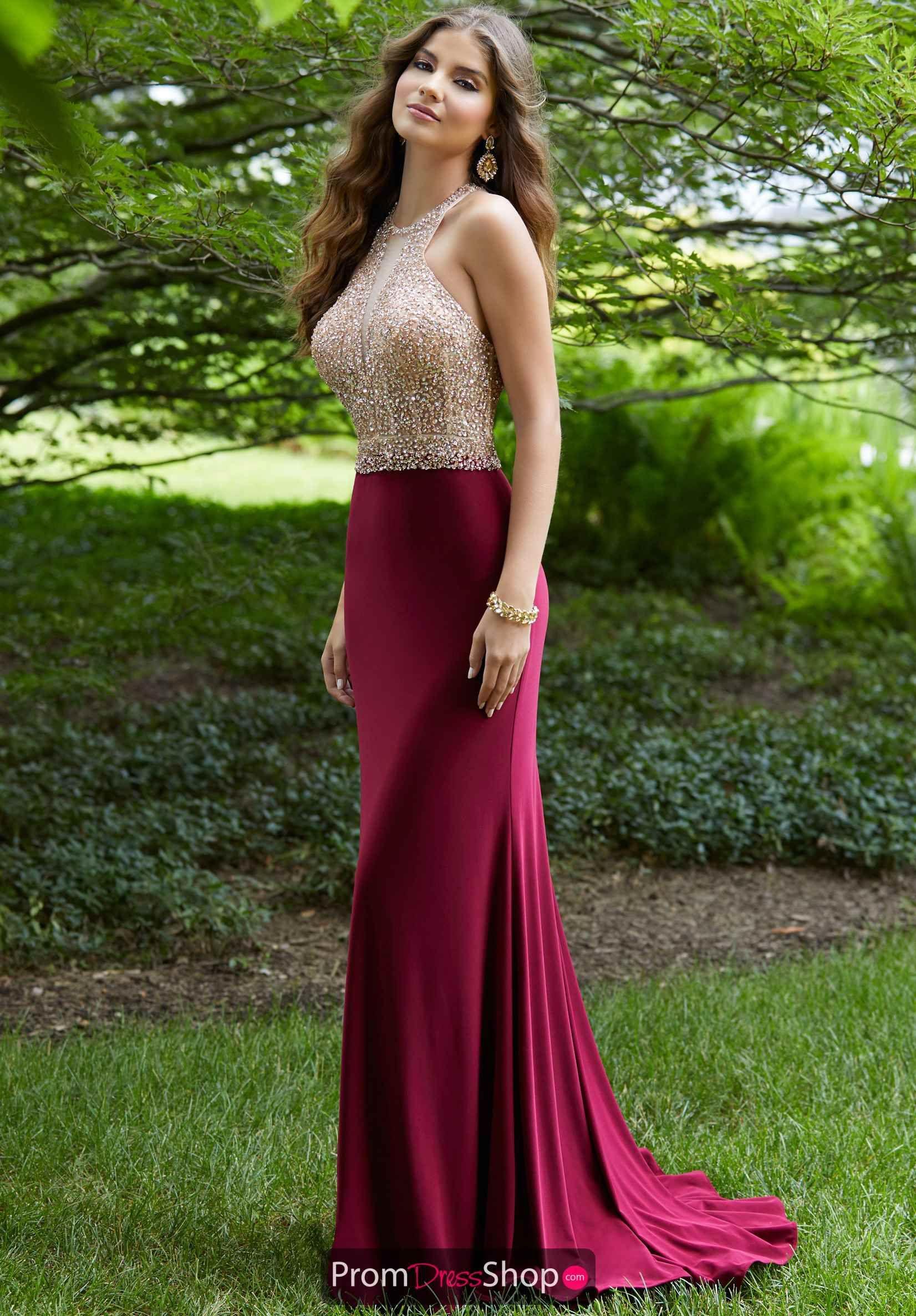 Morilee Dress 43037 Promdressshop Com Stunning Prom Dresses Prom Dresses Sleeveless Jersey Prom Dress [ 2374 x 1652 Pixel ]